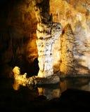 stalagmite de fléau de cavernes de carlsbad Images libres de droits