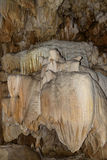 Stalagmite inside the cave Royalty Free Stock Image