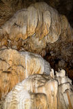 Stalagmite inside the cave royalty free stock photo