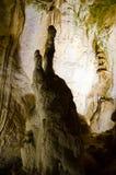 stalagmites Caverne de marbre crimea images libres de droits
