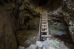 Stalagmites de caverne Photos libres de droits