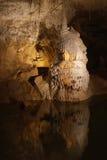 Stalagmites e stalactites fotografia de stock