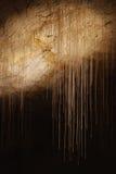 Stalagmites e stalactites Fotografia Stock Libera da Diritti