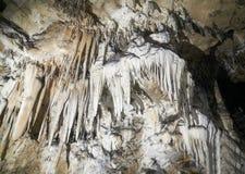 stalagmites stalactites подземелья Стоковые Фотографии RF