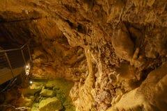 Underground grottes Stock Image