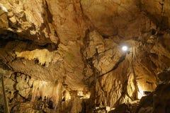 Underground grottes Royalty Free Stock Images