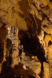 Stalagmits in grotto Royalty Free Stock Photos