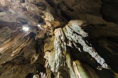 Stalaktit in der Höhle Lizenzfreies Stockfoto