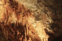 Stalaktit-Höhle in Cabrespine frankreich Lizenzfreie Stockfotos