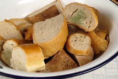 Stale bread Stock Images