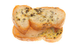 Stale Breads. Mold Growing On A Stale Breads royalty free stock photography