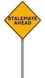 Stalemate Ahead Stock Photo