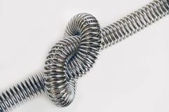 Stali spirala. Zdjęcie Royalty Free