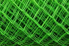 Stali zieleni sieć Zdjęcie Royalty Free