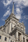 Stalin& x27; здание стиля империи s Стоковое Изображение