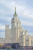 Stalin house in Moscow Stock Image
