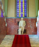 Stalin monument in Gori museum Royalty Free Stock Images