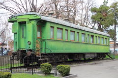 Stalin railway carriage Royalty Free Stock Image