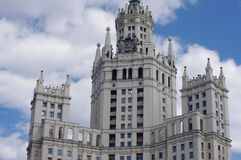 Stalin's building in Moscow, Russia Royalty Free Stock Photography