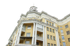 Stalin's Empire.KEMEROVO, RUSSIA - JUNE 05, 2014. Building in Kemerovo city, capital of Kemerovskaya region, Siberia, Stalinist ar Stock Photo