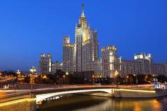 Stalin's Empire style building. Stock Photos