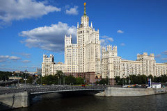 Stalin's Empire style building. Stock Photo