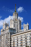 Stalin's Empire style building royalty free stock photo