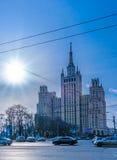 Stalin's Skyscreper Building Stock Photo