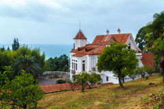 Stalin's summer residence in Sukhumi Royalty Free Stock Images