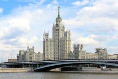 Stalin skyskrapa Royaltyfri Fotografi