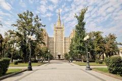 Stalin skyskrapa Fotografering för Bildbyråer