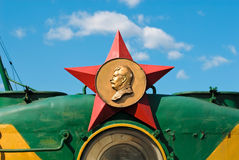 Stalin star Royalty Free Stock Images