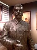 Stalin statue Stock Images