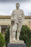Stalin staty i Gori, Georgia Fotografering för Bildbyråer