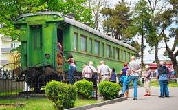 Stalin wagon museum. Gori, Georgia Stock Image