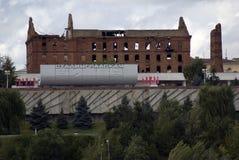 Stalingrad batalistyczny wojenny pomnik w Volgograd, Rosja zdjęcia stock