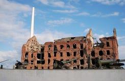 Stalingrad battle war memorial in Volgograd, Russia. Royalty Free Stock Images