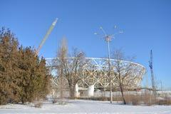 Stalingrad, edificio del estadio Foto de archivo libre de regalías