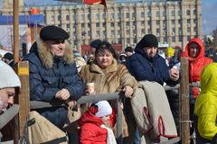Stalingrad, Maslenitsa 2017 Imagen de archivo