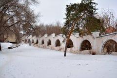 Stalingrad, opinión del invierno Fotos de archivo