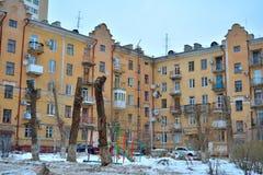 Stalingrad, opinión del invierno Fotografía de archivo