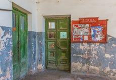 Stalinist город Chiatura стоковая фотография rf