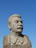 Stalins sculpture portrait Royalty Free Stock Photography