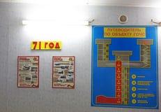 Stalinsbunker in Samara, Royalty-vrije Stock Afbeelding
