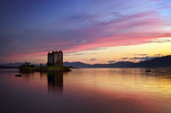 Free Stalker Castle In Sunset Stock Photography - 91218992