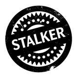 Stalker rubber stamp Royalty Free Stock Photography