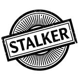 Stalker rubber stamp Royalty Free Stock Images