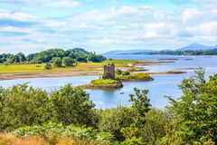 Stalkerslott, Skottland Royaltyfria Foton