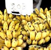 Stall of bananas Royalty Free Stock Photos