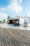 Stall at the Brighton Pier Royalty Free Stock Photo